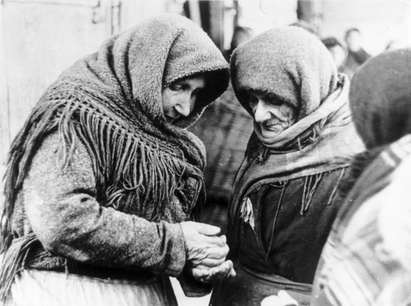 Bundesarchiv B 145 Bild-F051638-0714, Polen, Ghetto Lublin, alte Frauen