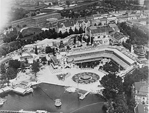 Luna Park, Berlin - Berlin-Halensee, Lunapark, 1935, after the park had closed.