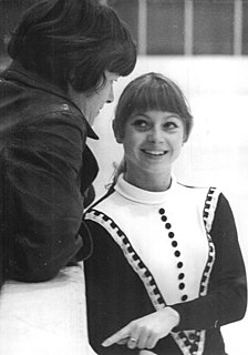 Sonja Morgenstern East German figure skater