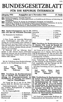 österreichische Neutralität Wikipedia