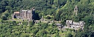 Reichenstein Castle (Trechtingshausen) - Image: Burg Reichenstein R 01