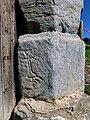 Burgruine Dürnstein Stmk Relief Tor.jpg