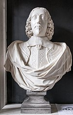 Bust of Edward Peyto - St. Giles Church, Chesterton.jpg