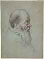 Bust of a Bearded Old Man, Profile to Right MET DP808047.jpg