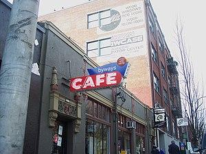Types of restaurant - Byways Cafe in Portland, Oregon, USA