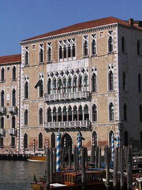 Ca' Foscari and Palazzo Giustinian, seat of Ca' Foscari University