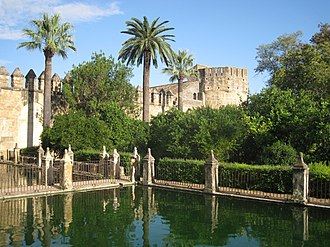 San Basilio, Córdoba - Image: Córdoba Alcázar de los Reyes Cristianos