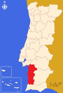 alentejo litoral mapa Alentejo Litoral – Wikipédia, a enciclopédia livre alentejo litoral mapa