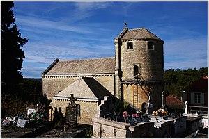 Cassagnes, Lot - The church in Cassagnes