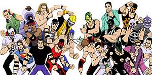 Chikara (professional wrestling) - The Chikara roster of 2004