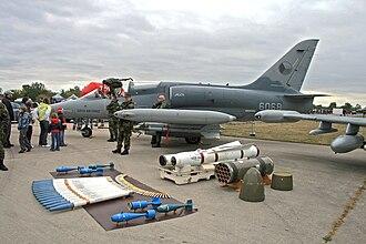 Aero L-159 Alca - Czech Air Force L-159A with its armament