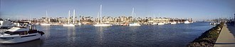 Channel Islands Harbor - Image: CI Harbor Panorama