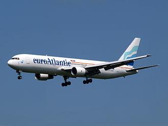 EuroAtlantic Airways - euroAtlantic Boeing 767-300ER in the former livery