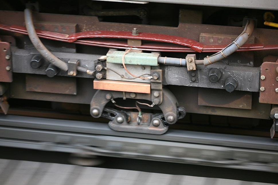 CTA third rail contact shoe