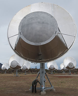 The Allen Telescope Array (ATA-42), October 11, 2007.