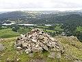 Cairn overlooking Elterwater - geograph.org.uk - 1426490.jpg