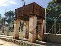 Caixa d'água da Estação Quilombo do antigo traçado da ferrovia (Ytuana) em Itupeva - panoramio.jpg