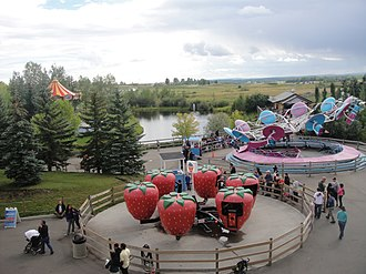 Calaway Park - The Berry Go Round is one of several family rides at Calaway Park.