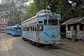 Calcutta blue trams, Kolkata, India.jpg
