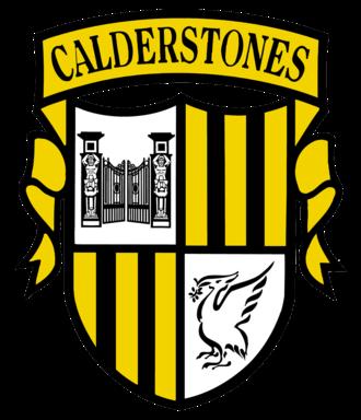 Calderstones School - Current school crest