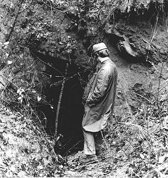Calhoun Mine - National Park Service photo, 1972
