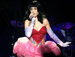 Katy Perry a Birmingham durante il California Dreams Tour