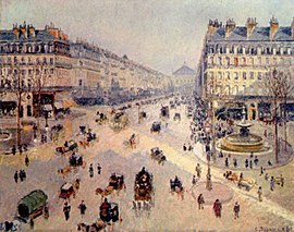 Camille Pissarro - Avenue de l'Opera - Musée des Beaux-Arts Reims