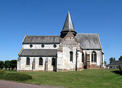 Camps-en-Amiénois (église) façade Sud 0129.jpg