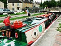 Canal boat on the way down the Kennet and Avon canal (5) - geograph.org.uk - 1443379.jpg