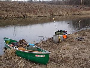 Big Bureau Creek - Canoe along the creek.