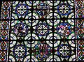 Canterbury Cathedral 091 window with ancient rondels incl Death of Becket.JPG