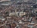 Canterbury Cathedral Aerial image (8636097884).jpg