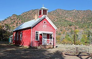 National Register of Historic Places listings in Garfield County, Colorado - Image: Canyon Creek School District No. 32