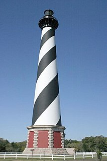 Cape Hatteras Lighthouse lighthouse in North Carolina, United States