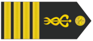 Military ranks of Brazil - Image: Capitãode Mare Guerra MB