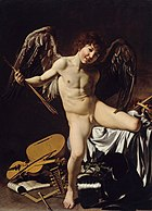 Caravaggio - Cupid as Victor - Google Art Project.jpg