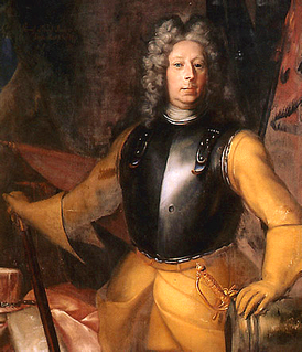 Carl Gustav Rehnskiöld Swedish field marshal