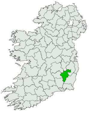 Carlow County (UK Parliament constituency) - Image: Carlow 1918 UK Irish constituency