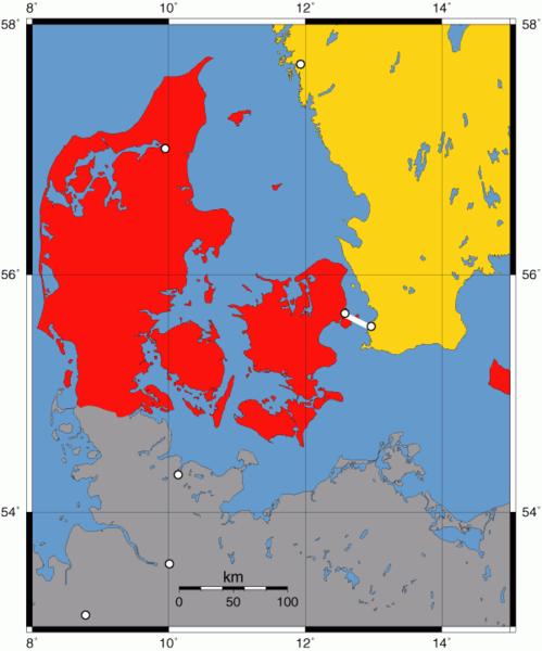 Fichier Carte Danemark Suede Oresundsbron Png Wikipedia