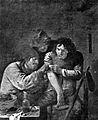 "Cartoon of ""Un Medecin de Village"" by A. Brauwer Wellcome L0000638.jpg"