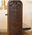 Carved inscription on bench end, Affpuddle.jpg