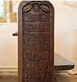 Carved inscription on bench end, Affpuddle.jpg