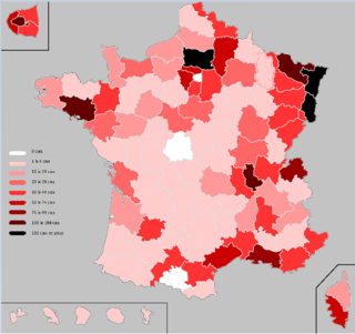 2020 coronavirus pandemic in France Details of ongoing viral pandemic in France