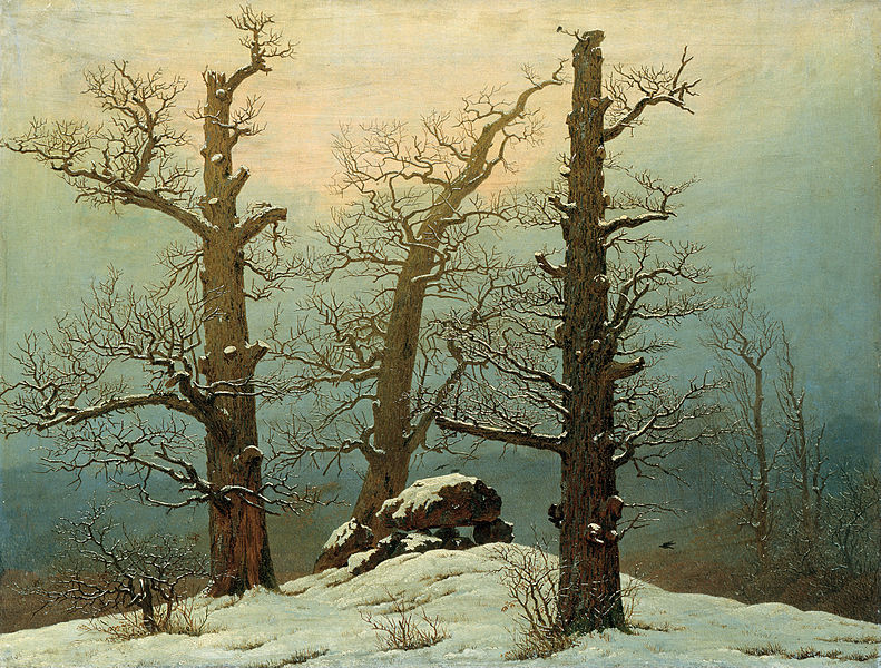 File:Caspar David Friedrich - Cairn in Snow - Google Art Project.jpg