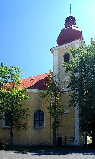 Částkov (Tachov District) - Image: Castkov Kostel