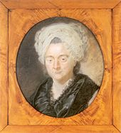 Catharina Elisabeth Goethe, Porträt von Georg Oswald May, 1776 (Quelle: Wikimedia)