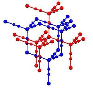 Zinc cyanide - Image: Cd(CN)2