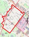 Center Square-Hudson Park Historic District map.png