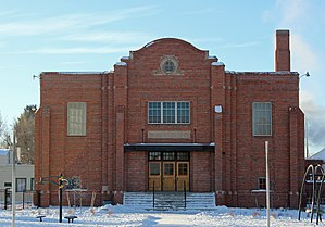 National Register of Historic Places listings in Rio Grande County, Colorado - Image: Central School Auditorium and Gymnasium