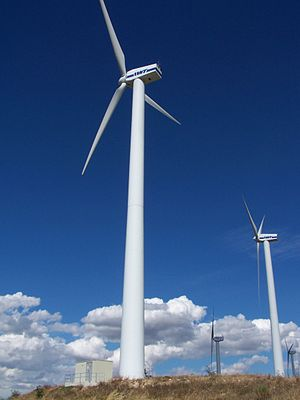 Energy law - Wind turbines in Campania
